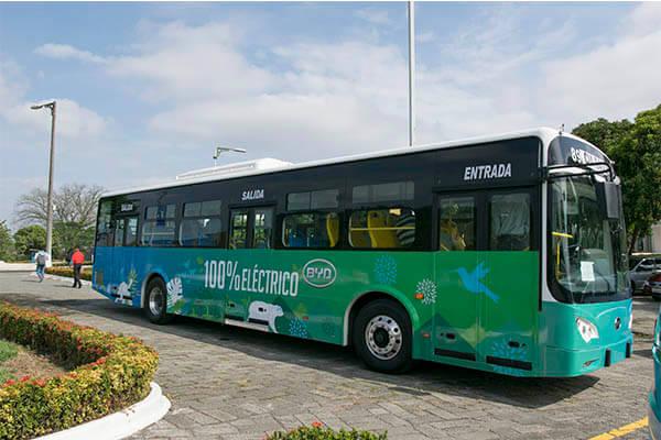 Bus eléctrico de Guayaquil