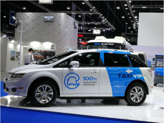 e-taxi byd